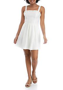 Speechless Ruffle Top Sleeveless Dress