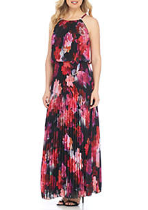 Allover Floral Gown