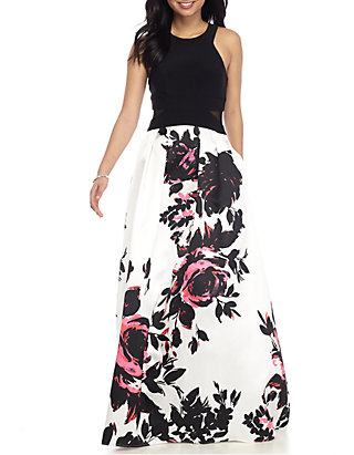 cf4c769a Xscape Floral Ball Gown | belk