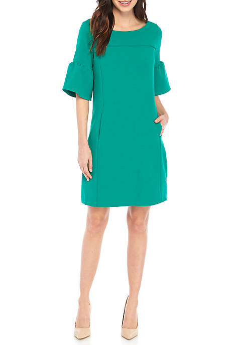 Cheap J Howard Flutter Sleeve Shift Dress