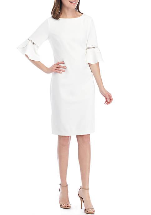 Jessica Howard Tulip Sleeve Dress