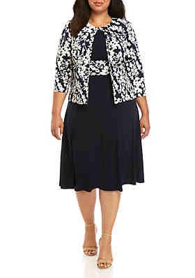 Jessica Howard Plus Size Clothing   belk