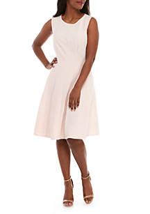 245ec7d8edc Sandra Darren. Sandra Darren Plus Size Solid Textured Knit Dress