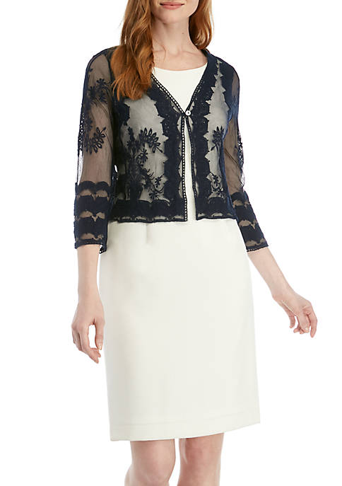 Chris McLaughlin Embroidered Topper Jacket
