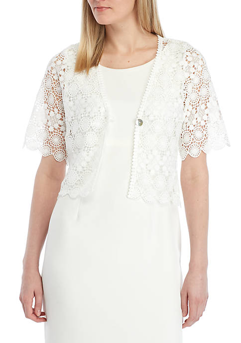 Chris McLaughlin Circle Lace Topper