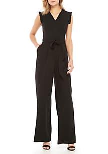 86bc545a234 ... Calvin Klein Sleeveless Ruffle Jumpsuit