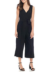 Wrap Knit Jumpsuit