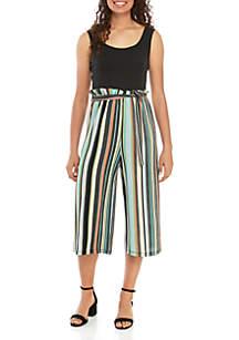 60251156da0 ... As U Wish Paperbag Waist Striped Jumpsuit