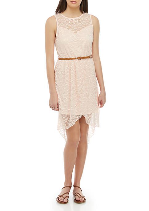 As U Wish High Low Lace Dress with