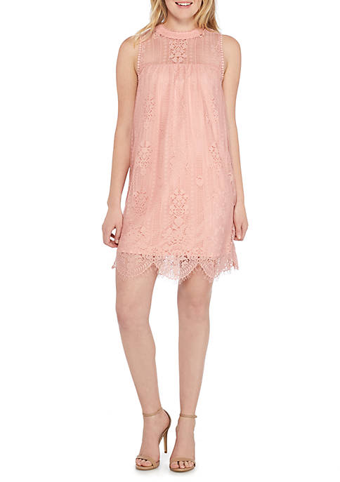 Miss Chievous Sleeveless Lace Dress