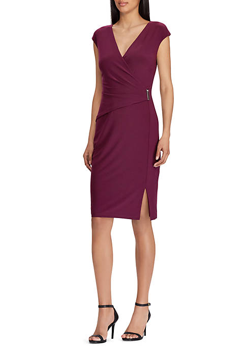 Lauren Ralph Lauren Aideena Plum Dress