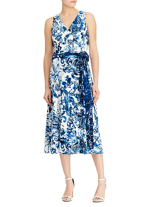 Lauren Ralph Lauren Cara Coco Paisley Dress