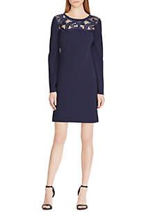 Ancula Jersey Lace Dress