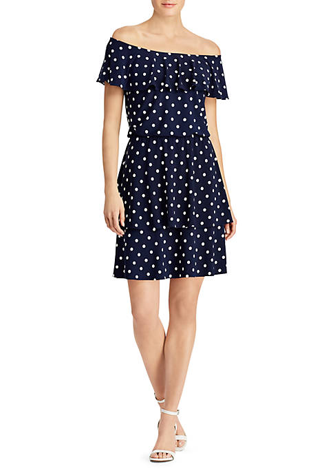 Lauren Ralph Lauren Lorelei Dot Dress
