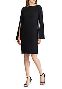 Jersey Split Sleeve Dress