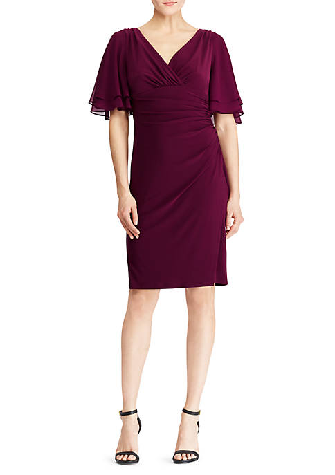 Lauren Ralph Lauren Ruffle Sleeve MJ Dress