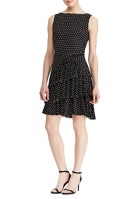 Lauren Ralph Lauren Mista Belle Dot MJ Dress