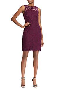 Melia Ava Floral Lace Dress