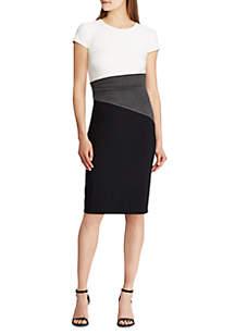 Short Sleeve 3-Tone Fenton Dress
