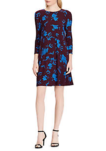 Long Sleeve Albi Almonte Floral Dress