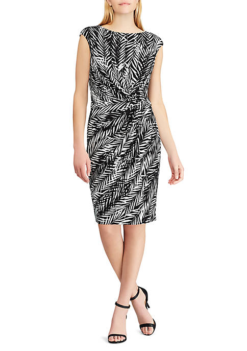 Lauren Ralph Lauren Joss Zebra Twigs MJ Dress