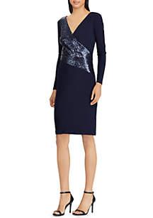 Matte Jersey Jodi Combination Dress