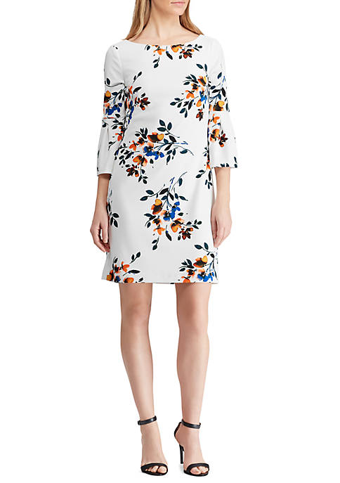 Lauren Ralph Lauren Floral Bell Sleeve Dress