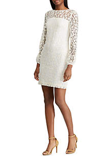 0dfeb914452 ... Lauren Ralph Lauren Floral-Lace Dress