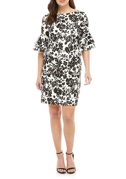 Lauren Ralph Lauren Floral Print Lace Dress