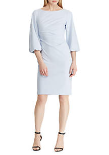 5ba9963f988 ... Lauren Ralph Lauren Ruched Crepe Dress
