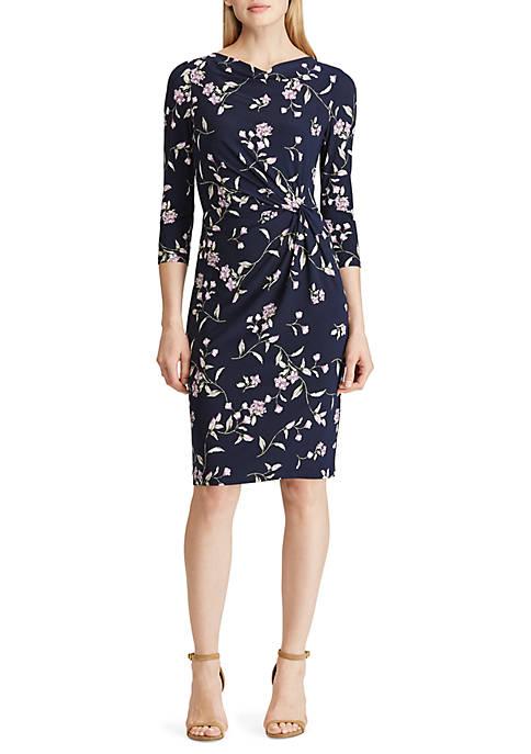 Lauren Ralph Lauren Jersey Cowlneck Dress