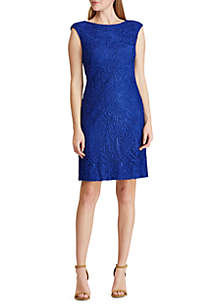 9fc7de50f9d ... Lauren Ralph Lauren Lace Cap Sleeve Dress