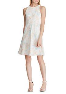Lauren Ralph Lauren Floral Crepe A Line Dress