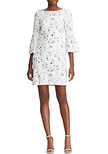 Lauren Ralph Lauren Floral Bell-Sleeve Dress