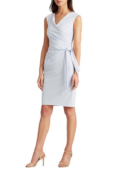 Lauren Ralph Lauren Jersey Cap Sleeve Dress