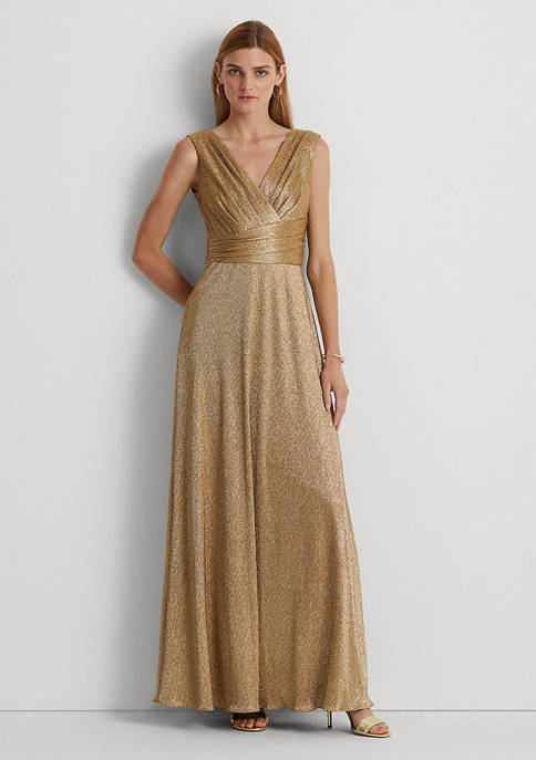 Lauren Ralph Lauren Bodre Sleeveless Evening Gown