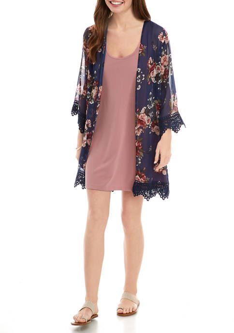 Belle du Jour Juniors 2 Piece Kimono and