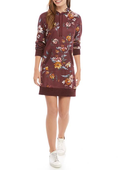 BeBop Juniors Long Sleeve Hoodie Dress