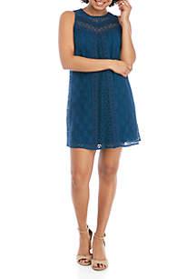 ca7be1666 Jolt Allover Lace Tank · Jolt Sleeveless Lace Crochet Dress