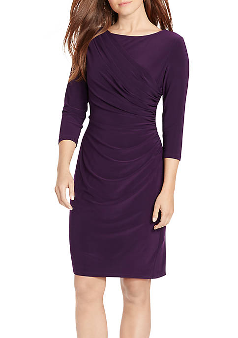 American Living™ Pleated Jersey Dress