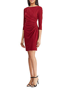 Shirred Jersey Dress