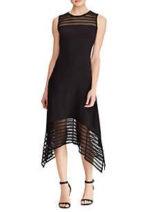 American Living™ Jersey Mesh Dress