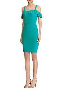 Beth Matte Jersey Dress