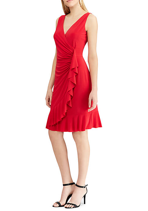 American Living™ Ruffled Jersey Sleeveless Dress
