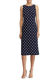 Kona Matten Jersey Modern Dot Dress