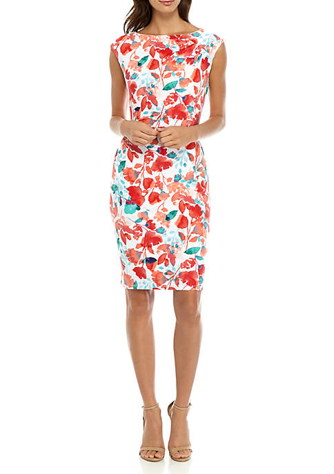 American Living™ Hassia Matte Jersey Floral Dress