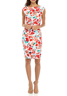 Hassia Matte Jersey Floral Dress