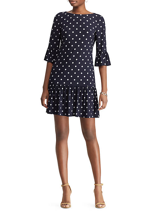 American Living™ Dot Print Jersey Dress