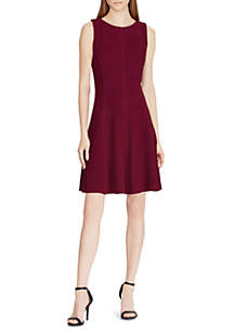 Scotty Sleeveless Fit-and-Flare Dress