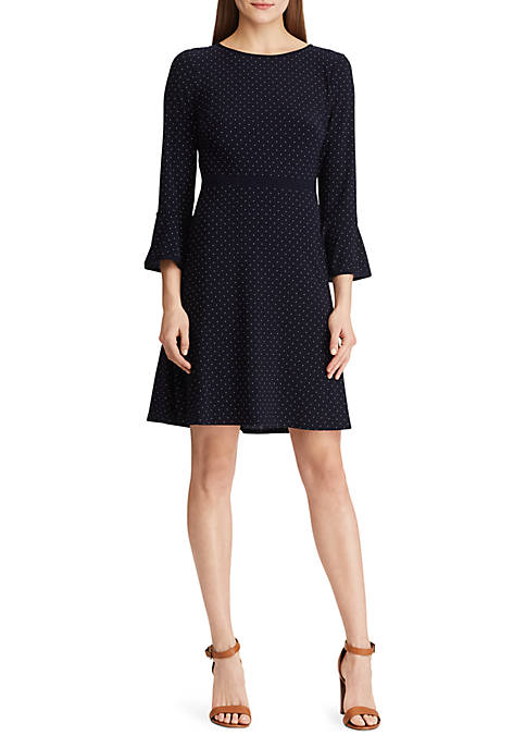 American Living™ Polka Dot Jersey Dress